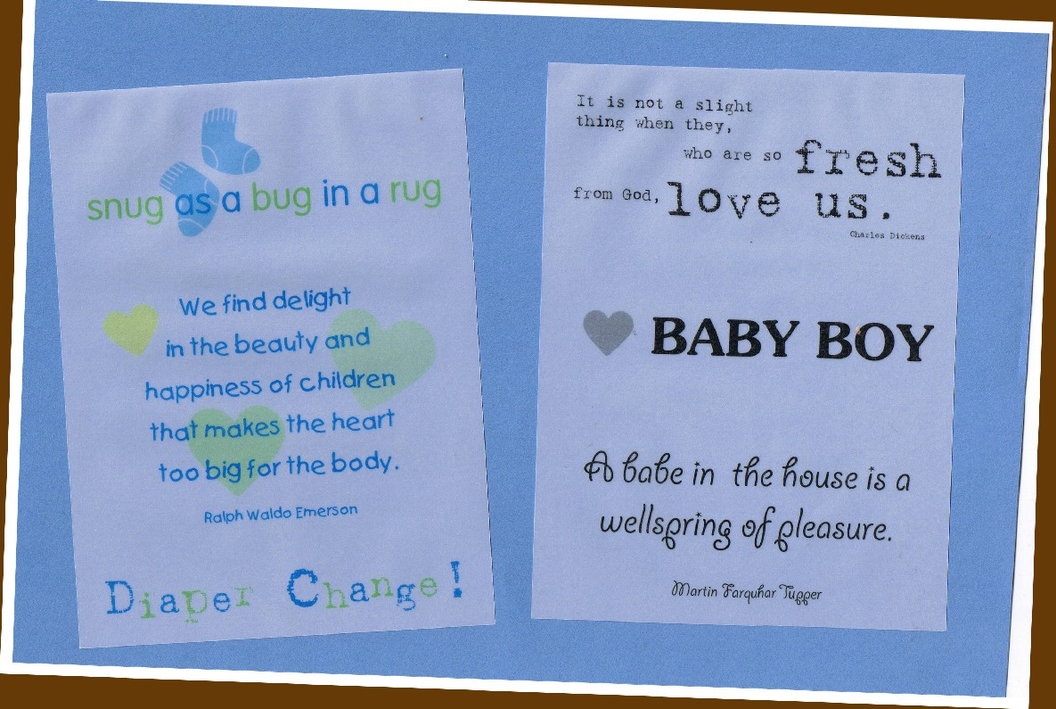 Baby Shower For Boy Quotes ~ Baby boy quotes and sayings quotesgram