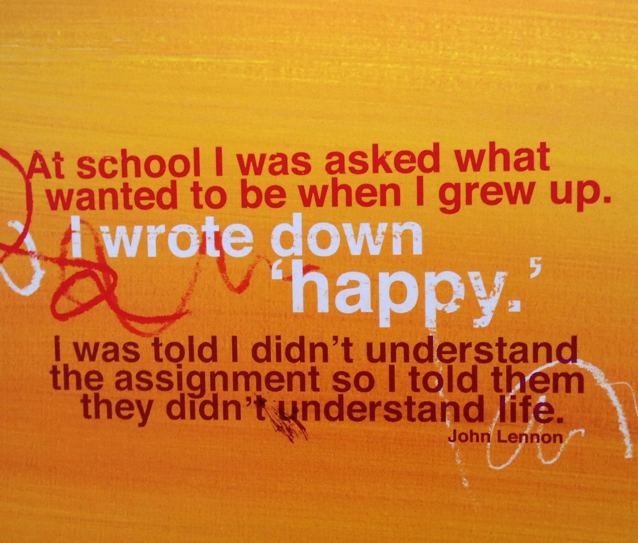 Quotes About Happiness John Lennon. QuotesGram