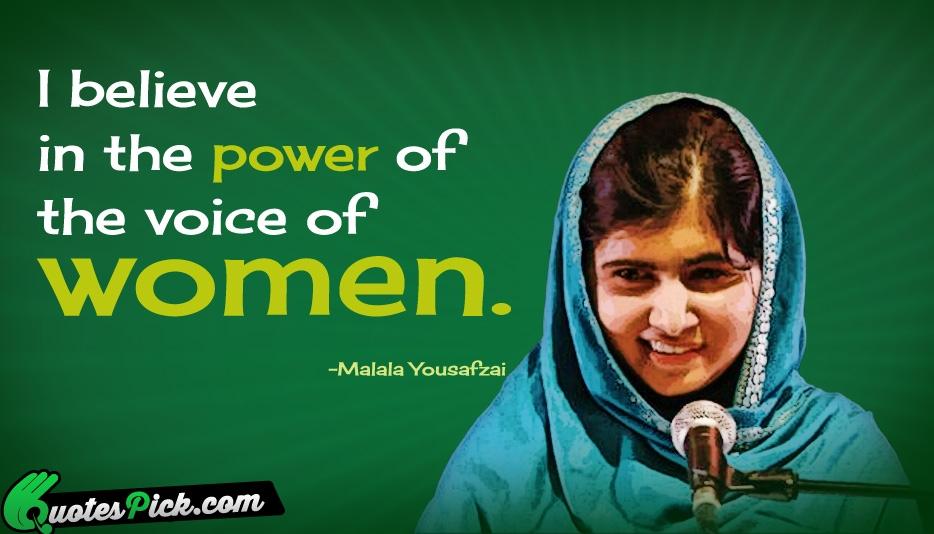 Malala Yousafzai Quote...