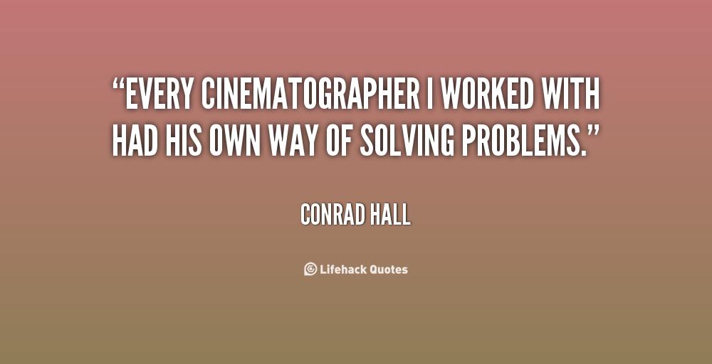 Cinematographer Quotes. QuotesGram