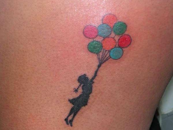 Balloon Tattoo Quotes. QuotesGram