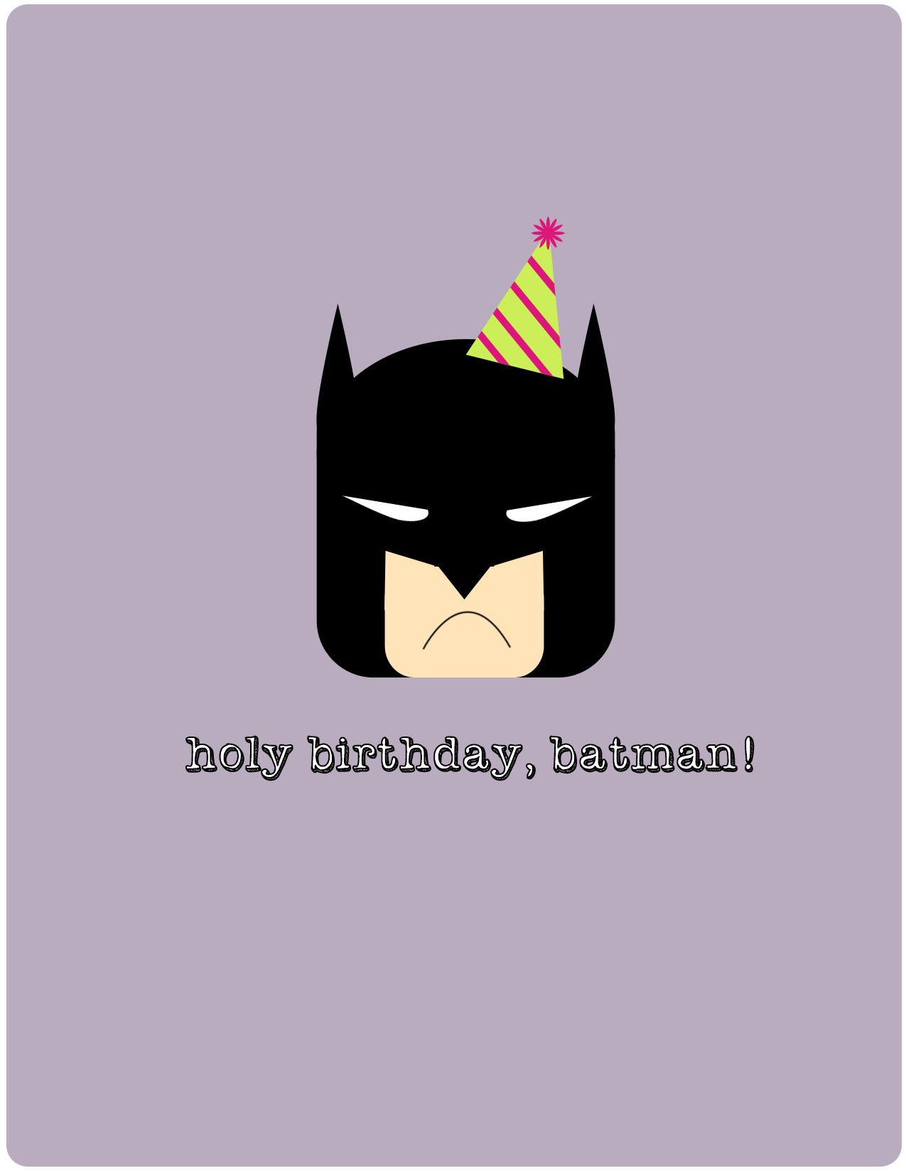 открытки с бэтманом регулярно попадает