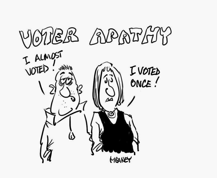 essays on voter apathy An essay or paper on voter apathy the united states is suffering from a malignant disease this illness threatens the very core of american democracy its manifestation is a certain malaise, an apathy of the spirit that keeps its citizens from participating in the very institution that sets thei.