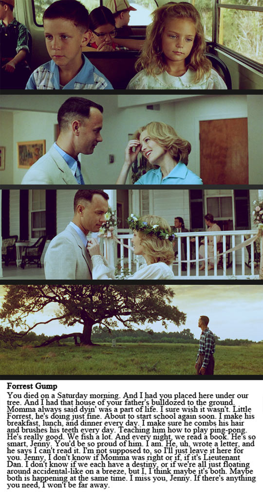"""as you like it and forrest gump belonging You probably won't be able to believe it, but forrest gump was actually first released in 1994that means the movie hit the two decade mark a few years ago but, it also helped us recall our history, retold and """"like a box of chocolates."""