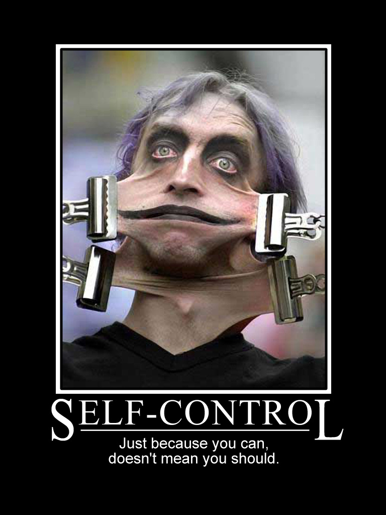 Quotes On Having Self Control. QuotesGram
