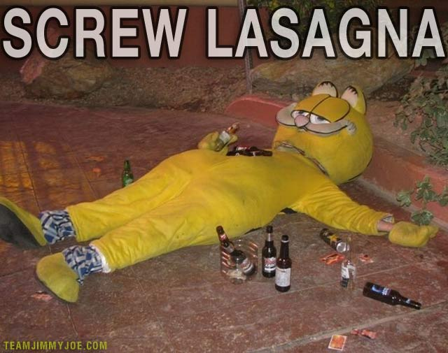 Lasagna Garfield Quotes About Quotesgram