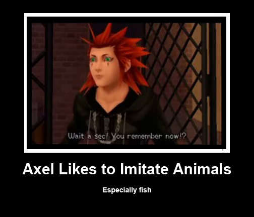 Axel Kingdom Hearts Quotes Quotesgram