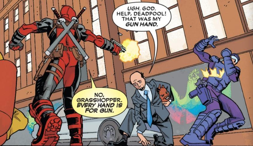 Deadpool Funny Quotes. QuotesGram