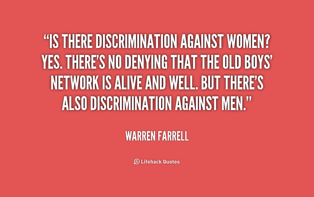 descrimination should be stopped Why discrimination is wrong  if race is not a legitimate reason for discrimination is should also not be a legitimate reason for pride or identification.