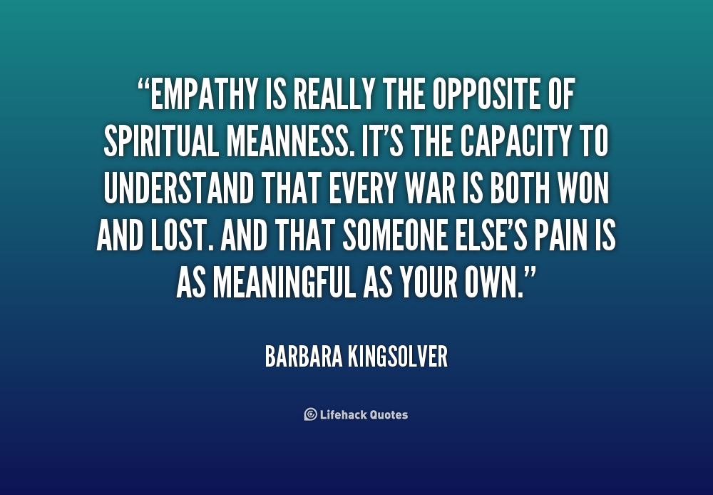 lacking empathy in a relationship