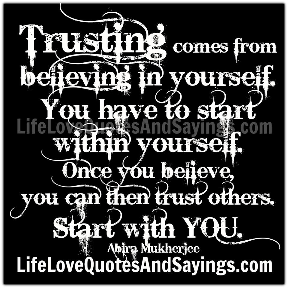 Believe In Yourself Quotes: Believe In Yourself Quotes And Sayings. QuotesGram