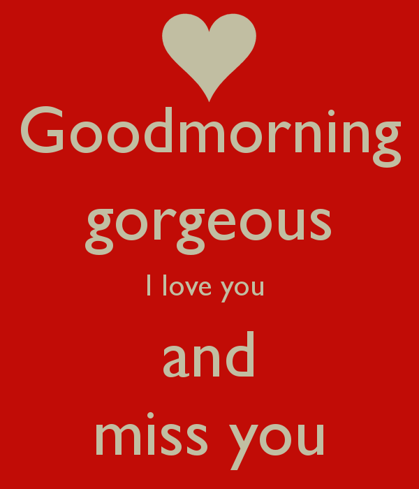 I Love You And Miss U Quotes: Good Morning Miss You Quotes. QuotesGram