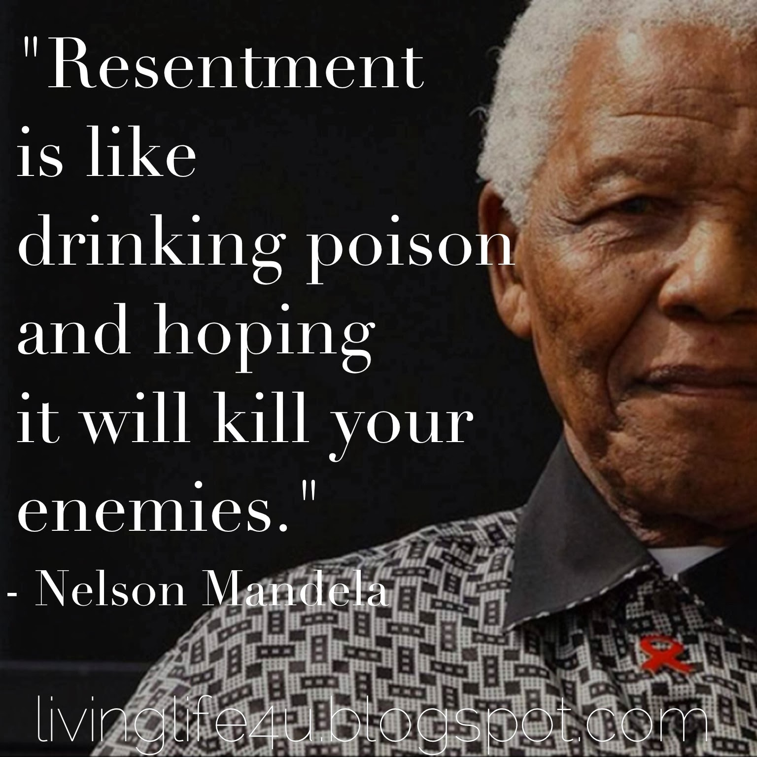 Quotes About Anger And Rage: Quotes From Mandela About Resentment. QuotesGram