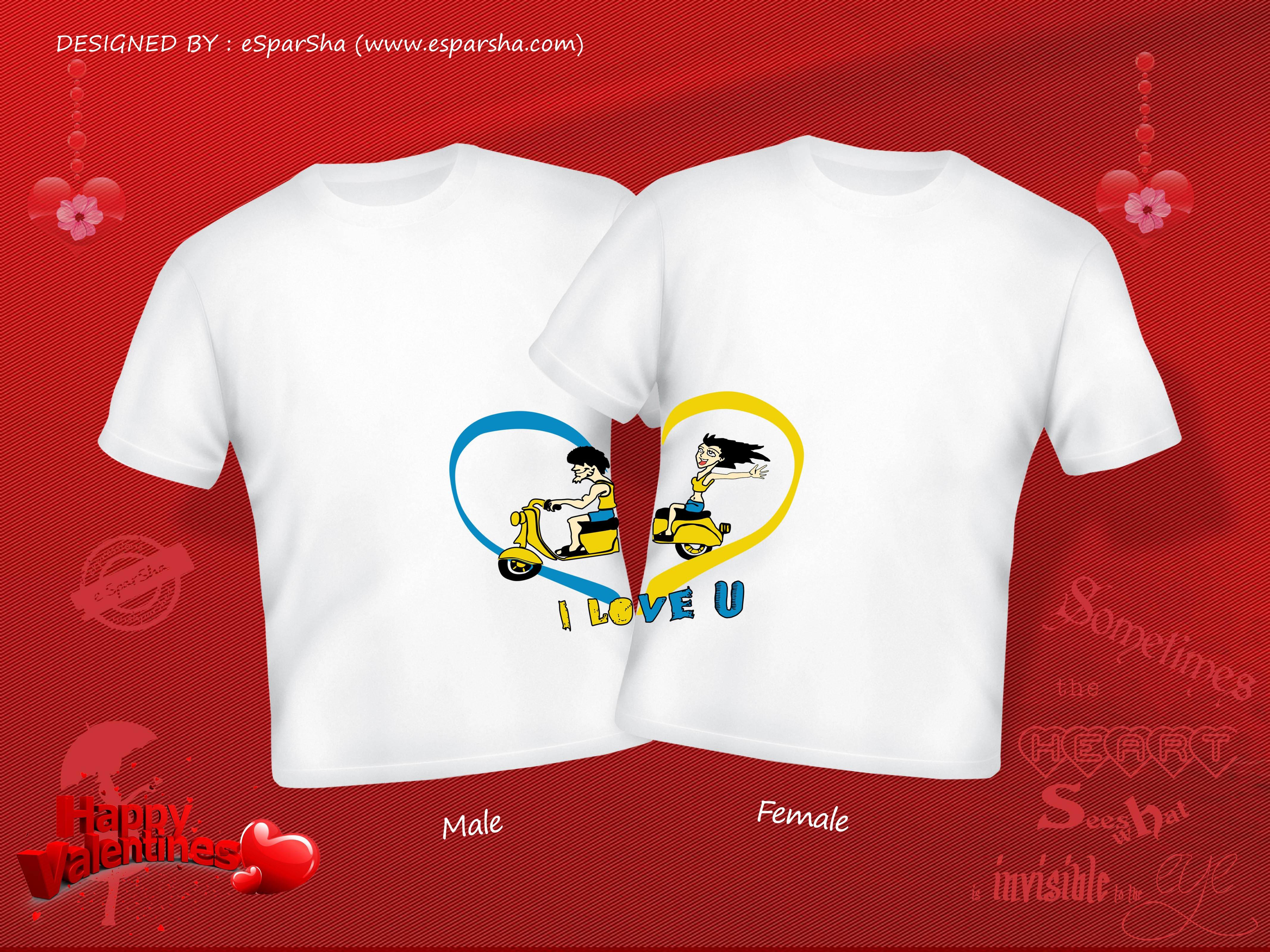 Couple shirt design quotes - Couple Shirt Design Quotes 56