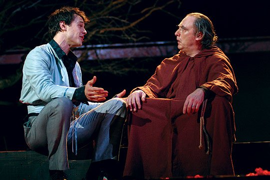 The significance of friar lawrence in the development of romeo and juliets story