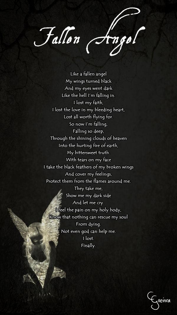 Fallen Angel Quotes Quotesgram