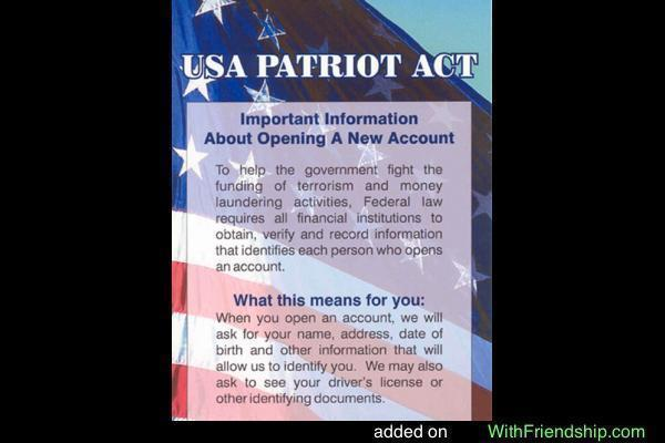 List of Pros and Cons of The Patriot Act