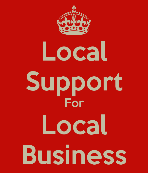 how to support local businesses without buying