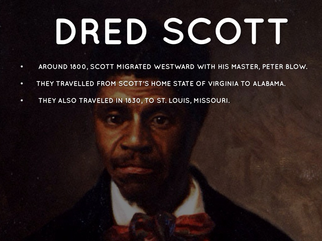 commentary dred scott Virtually everyone today agrees that the dred scott decision was a bad one, and that it shows the highest court of appeals can still make mistakes but at the time of the decision, that sentiment wasn't.