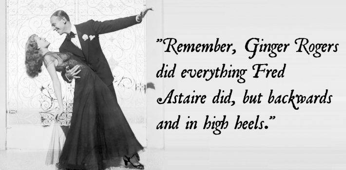 Quotes About High Heels Ginger Rogers Quotesgram