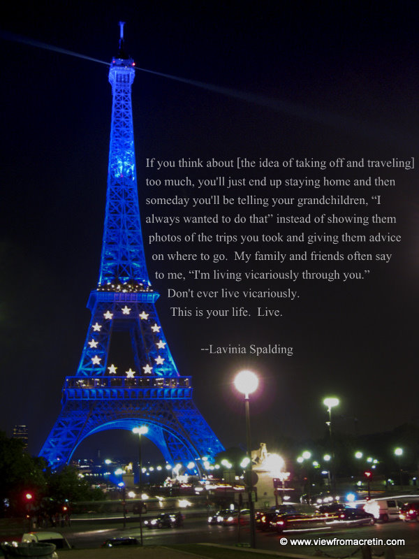 Inspirational Quotes About The Eiffel Tower. QuotesGram