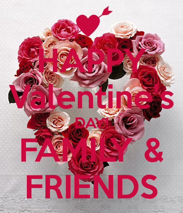 Friend Valentines Quotes: Family Quotes Happy Valentines Day. QuotesGram
