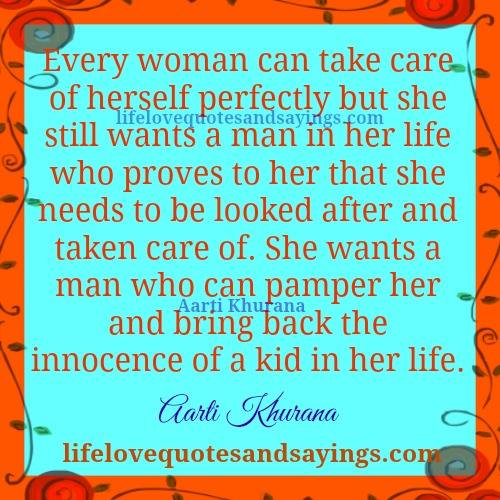 Quotes her needs a what from wife husband 100 Affectionate