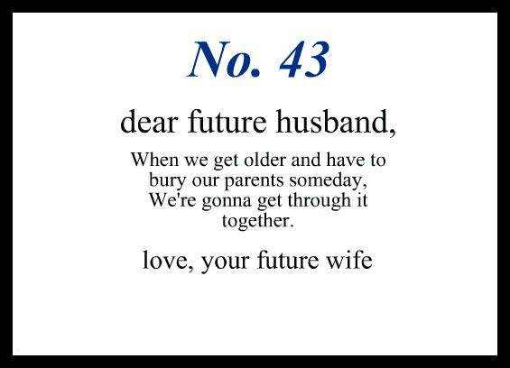 dear future husband letters future husband quotes quotesgram 50959