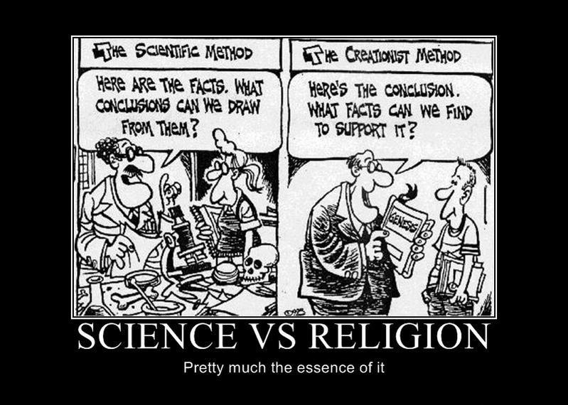 cosmology science vs religion The notion that science and religion are at war is one of the great dogmas of the  present age  the latest in a long line of volumes by prominent physicists and  cosmologists translating scientific theory for a popular audience  in science vs.
