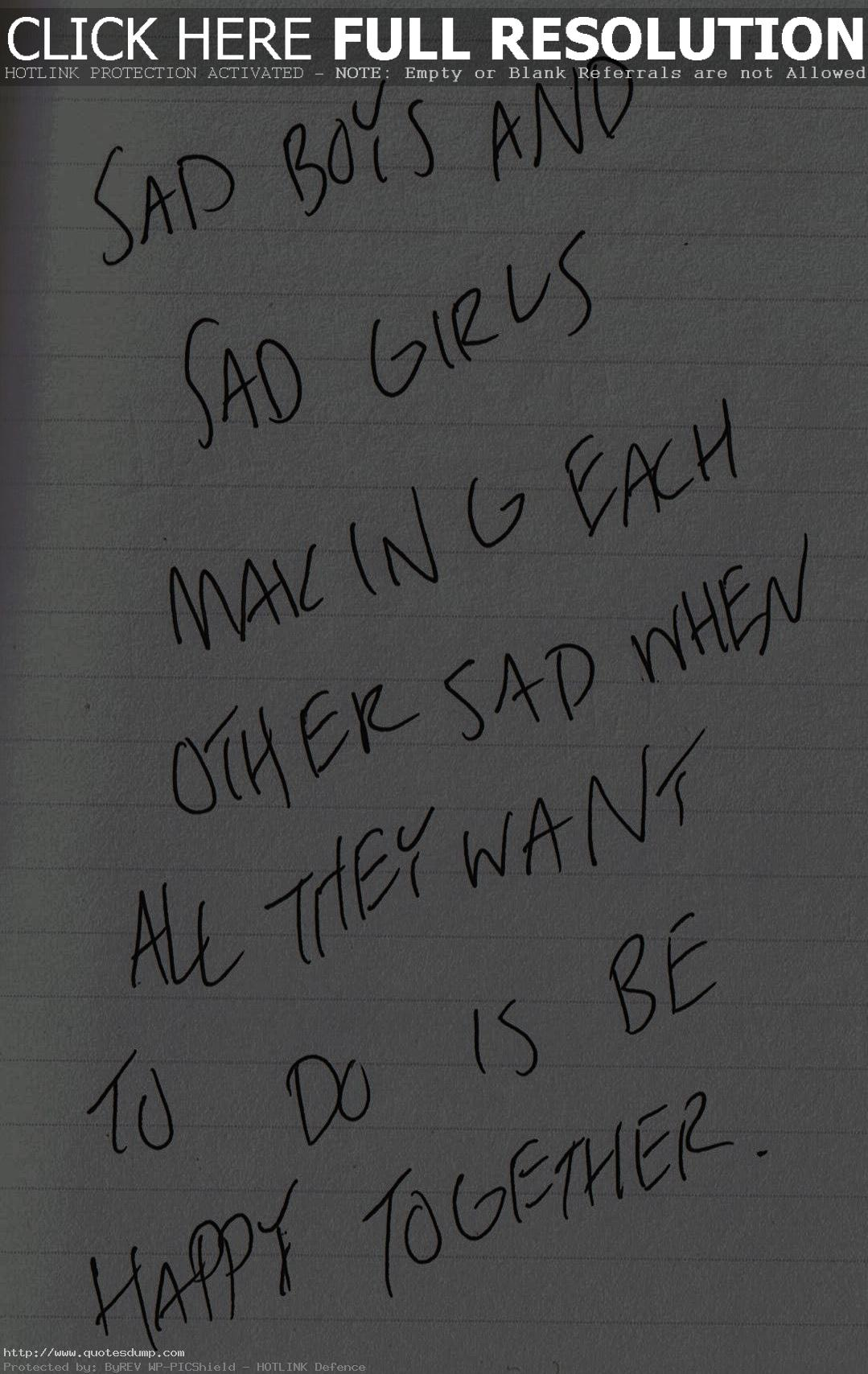 Sad Meaningful Quotes: Meaningful Love Quotes Boy And Girl. QuotesGram