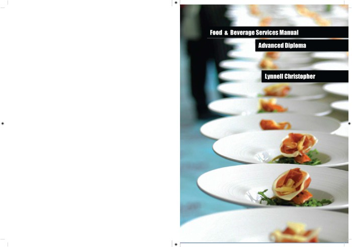 food and beverage service pdf book