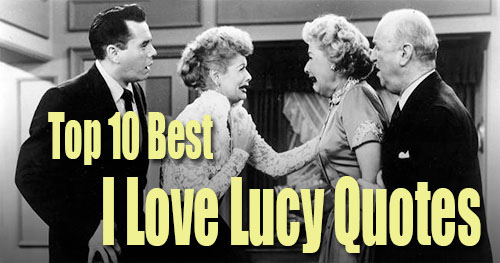 Red I Love Lucy Quotes Quotesgram