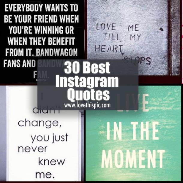 Top Instagram Quotes. QuotesGram