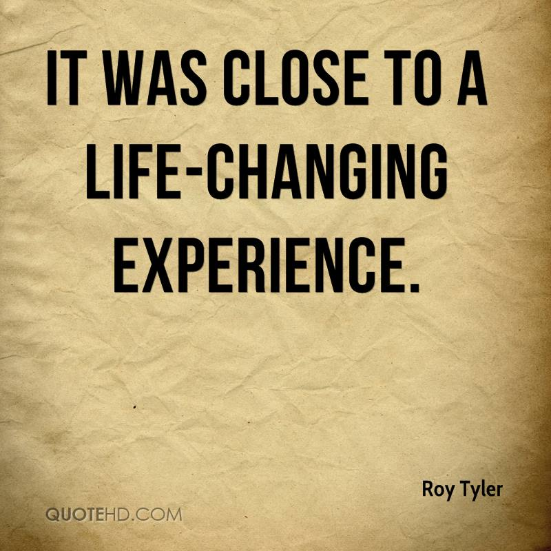 Life changing experience essays