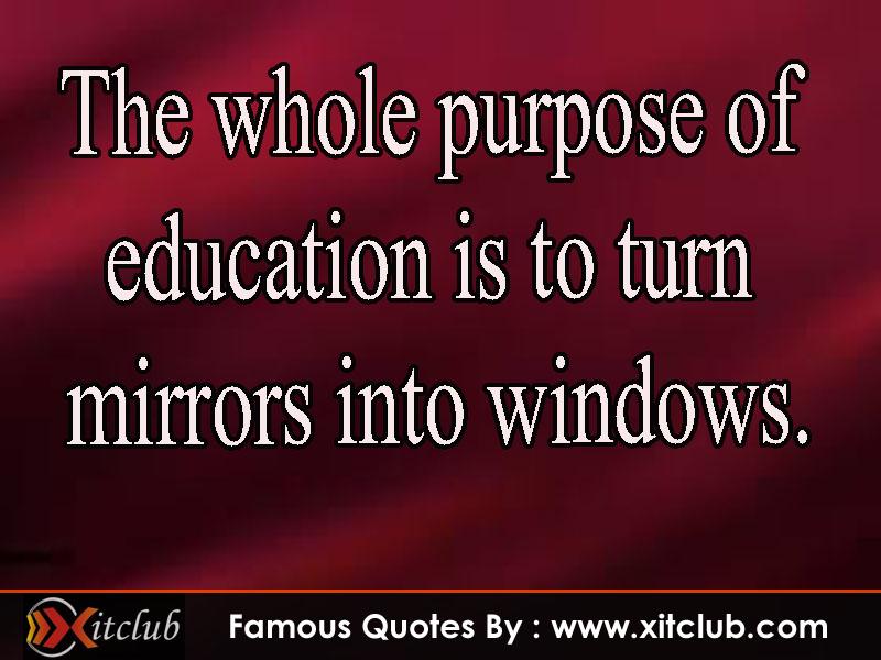 famous quotes about education quotesgram