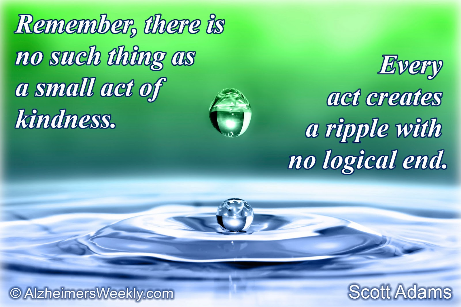 Ripple Effect Quotes And Sayings. QuotesGram
