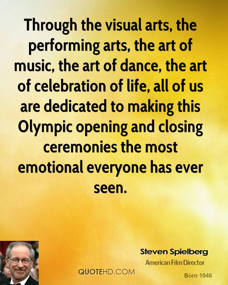 Famous Quotes About Performing Arts. QuotesGram