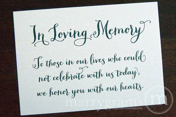 In Loving Memory Cake Ideas