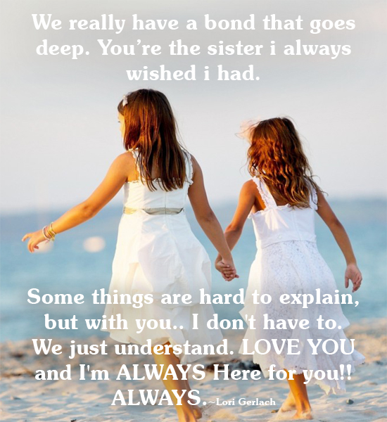 I Love You Quotes: I Love You Sister Quotes. QuotesGram