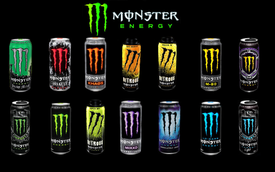 monster energy drink at its finest