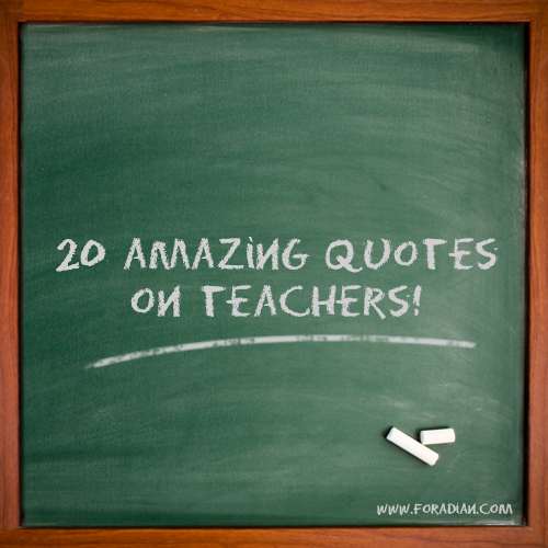 Teachers Day Quotes In English Images: Importance Of Teachers Quotes. QuotesGram
