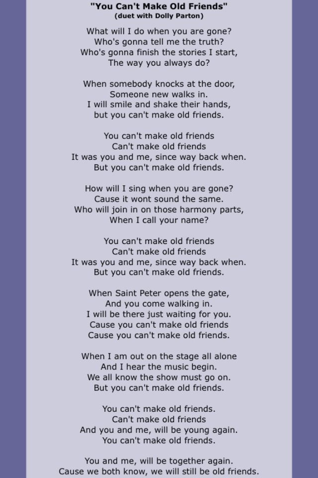 Kenny Roger Friendship Quotes Quotesgram