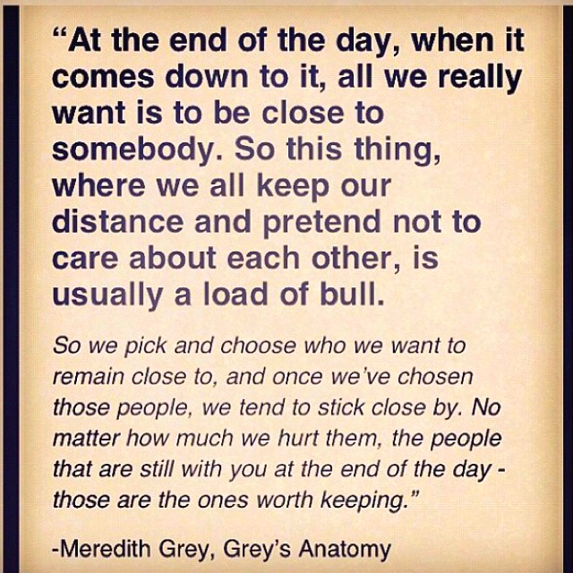 I Love You Quotes: Greys Anatomy Quotes And Sayings. QuotesGram