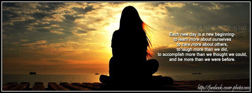 Each New Day Is A New Opportunity To Improve Yourself: New Day New Beginning Quotes. QuotesGram