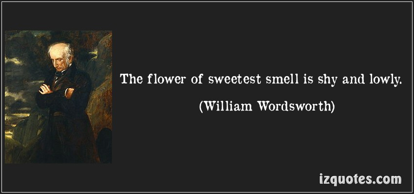 william wordsworth and his love nature William blake and william wordsworth are two poets that have a few very different views on life and the world  imagination and gave him that love of nature that.