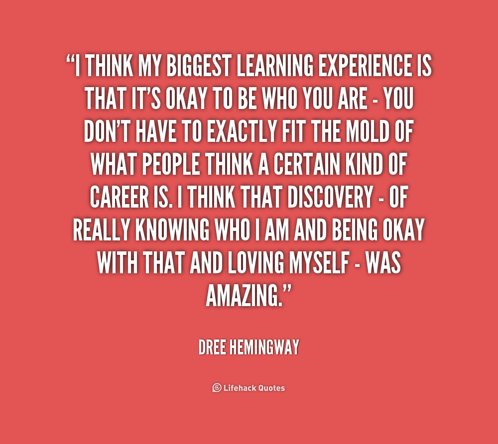Quotes About Experience: Learning Experience Quotes. QuotesGram