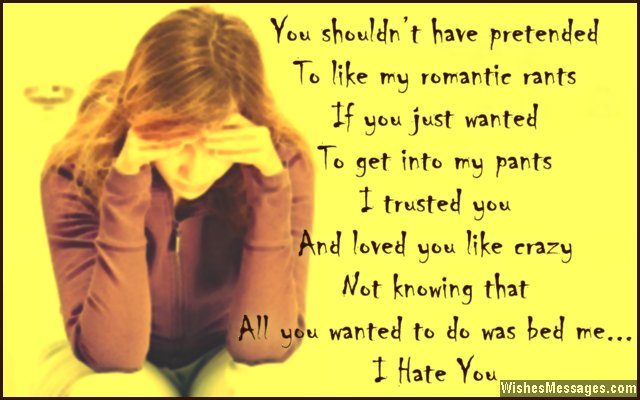 I Hate You Quotes I Like That: Sad Boyfriend Quotes. QuotesGram