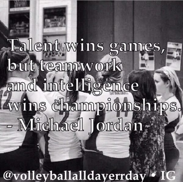 Motivational Team Quotes Volleyball: Volleyball Team Quotes. QuotesGram