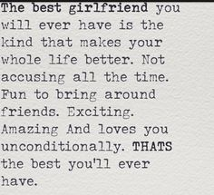 Ever best your the girlfriend 6 Ways