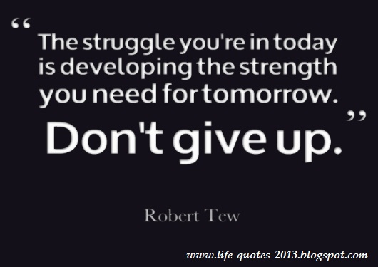 Never Give Up Quotes. QuotesGram